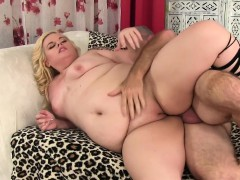 Fat Floozy Blond Dream Is Poked by a Thick Cock