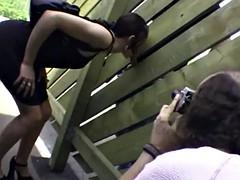 Dogging - Teen fucking in public