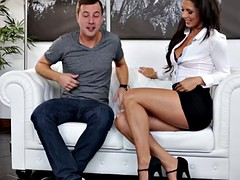 Hot Mom fucks New Stepson on First Meeting!