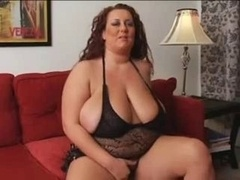 Solo real bbw mature female with milk sacks