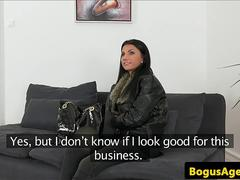 Amateur euro fucked during casting audition