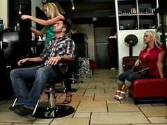 Caught on at the barber shop!