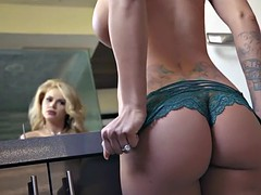Young wife fucks a peeping tom because her husband wouldnt