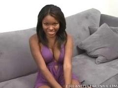 Candice Nicole Genital cumshot Ebony