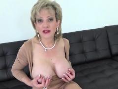 Unfaithful british mature lady sonia presents her huge boobi
