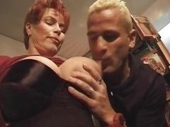 Redhead-Shorthair Sexually available mom Smoking-Fetish-Fuck