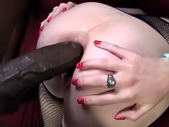Allie James tries Anal Sex with Mandingo