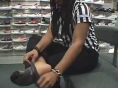ebony footlocker soles
