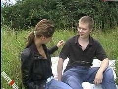 Outdoor oral sex and moreover sex