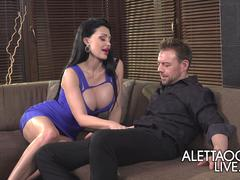 Threesome with Aletta Ocean - AlettaOceanLive