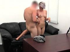 Big boobs pornstar dp with swallow