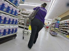 BBW And Big Booty Only (Candid)
