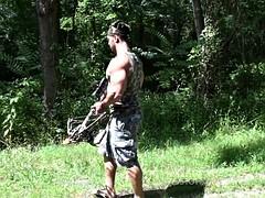 Zeus the huge naked bodybuilder