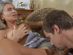 HOT MOM n148russian blonde aroused grown-up milf and young and fresh dude