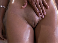 missy martinez gets her big tits and shaved pussy rubbed