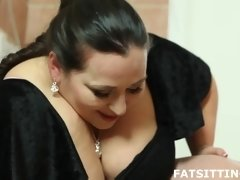 Free BBW facesitting video