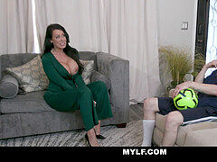 MYLF - beauty Stepmom Lets Me seize Her fat Juicy Tits