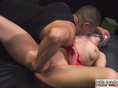 Double penetration domination Poor Callie Calypso