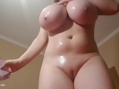 Naturally chesty girls, big natural tits in hot action