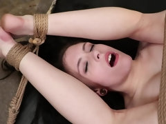 White and black studs gangbang helpless whore in various ways