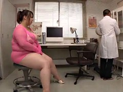 bbw in examination room