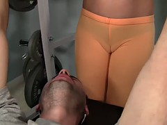 WANKZ The Sexiest Gym Camel Toe Ever